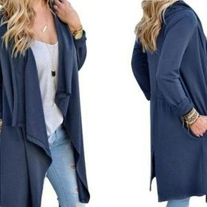 Leo Rosi Light weight fly away duster Cardigan